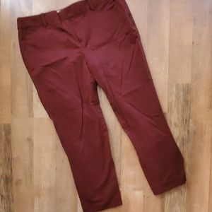 E Bauer crop pants
